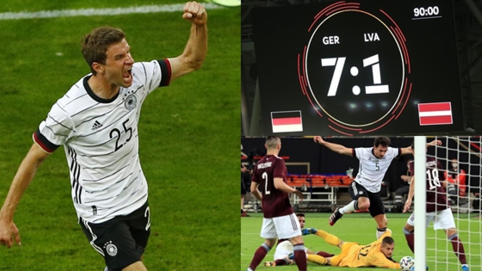 ĐT Đức chạy đà cho EURO 2021 bằng chiến thắng 7-1
