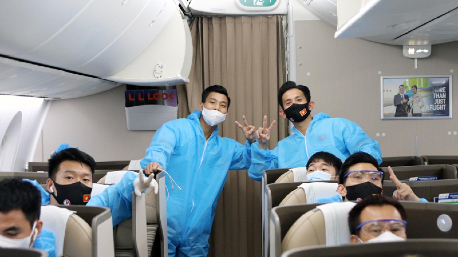 Các thành viên ĐT Việt Nam âm tính với SARS-CoV-2