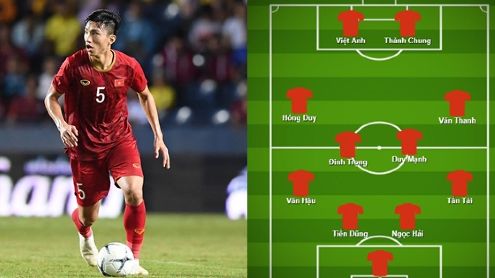 """ĐT Việt Nam có thể tung ra đội hình """"siêu hậu vệ"""" ở vòng loại World Cup"""