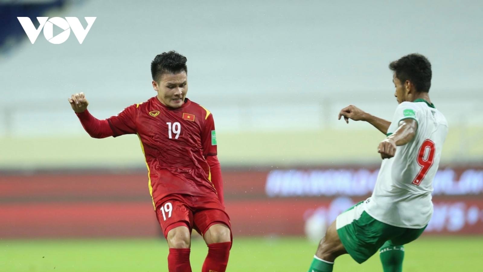 ĐT Việt Nam chờ đợi BXH FIFA đặc biệt trước thềm vòng loại thứ ba World Cup 2022