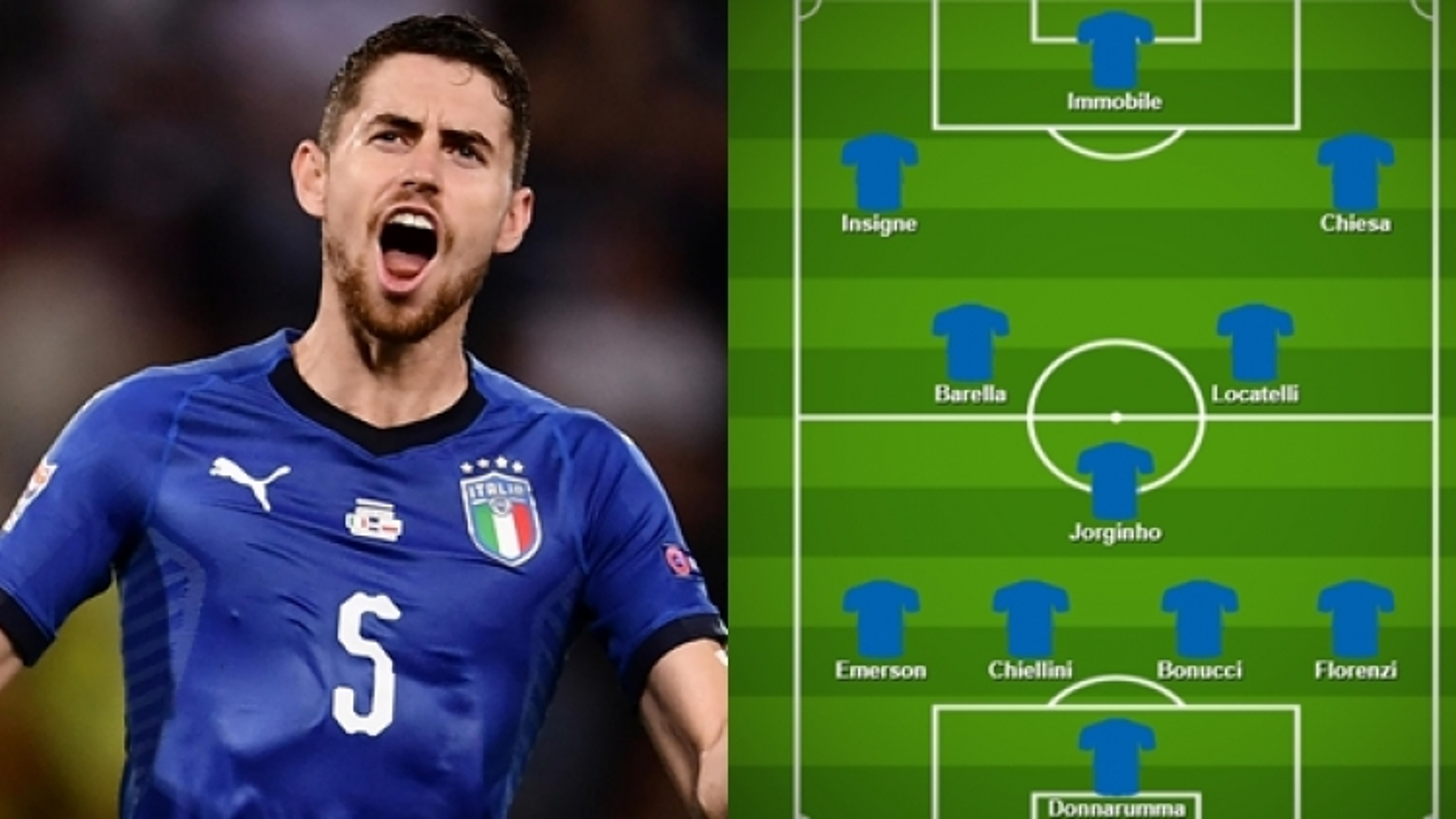Dự đoán đội hình tối ưu của ĐT Italia ở EURO 2021