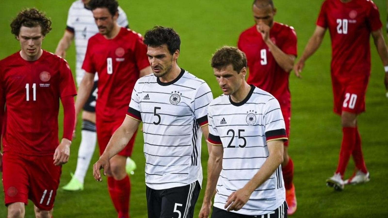 Công làm thủ phá, Đức chạy đà cho EURO 2020 bằng trận hòa Đan Mạch