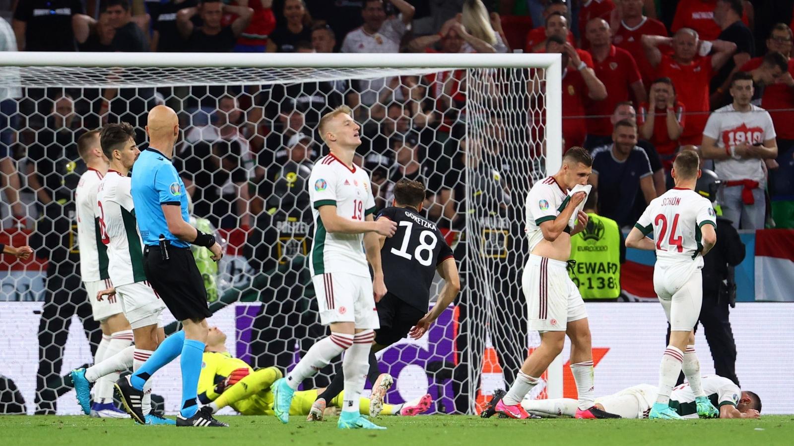 """Trở về từ """"cõi chết"""" trước Hungary, Đức gặp Anh ở vòng 1/8 EURO 2021"""