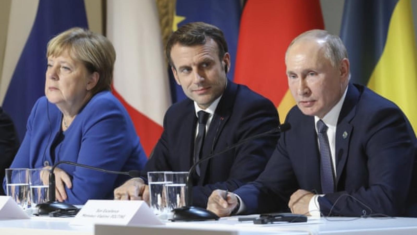 Pháp và Đức đề xuất EU họp thượng đỉnh với Nga