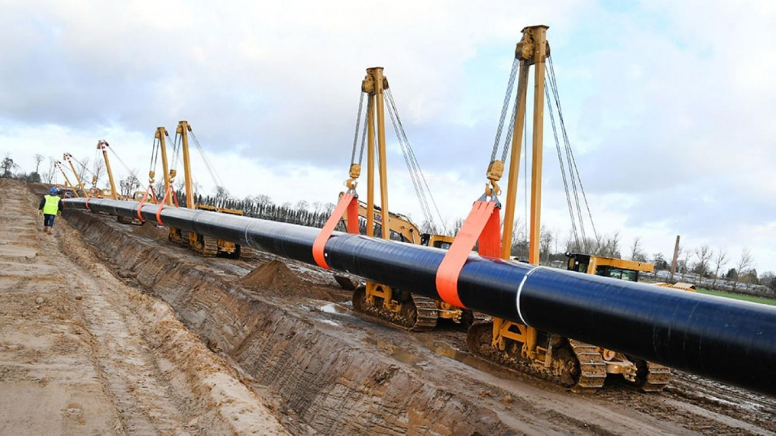 Nga không có ý định ngừng vận chuyển khí đốt đến châu Âu qua Ukraine