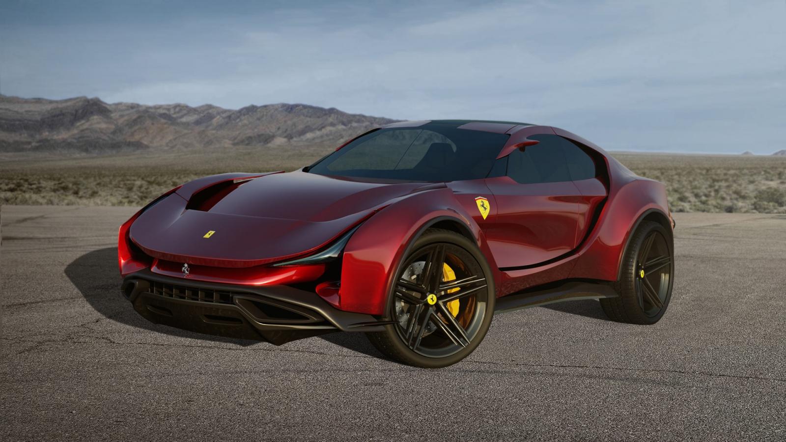 SUV của Ferrari sẽ trông ra sao?