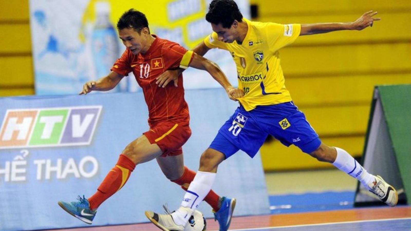 ĐT Futsal Việt Nam từng thắng Brazil 3-2 như thế nào?