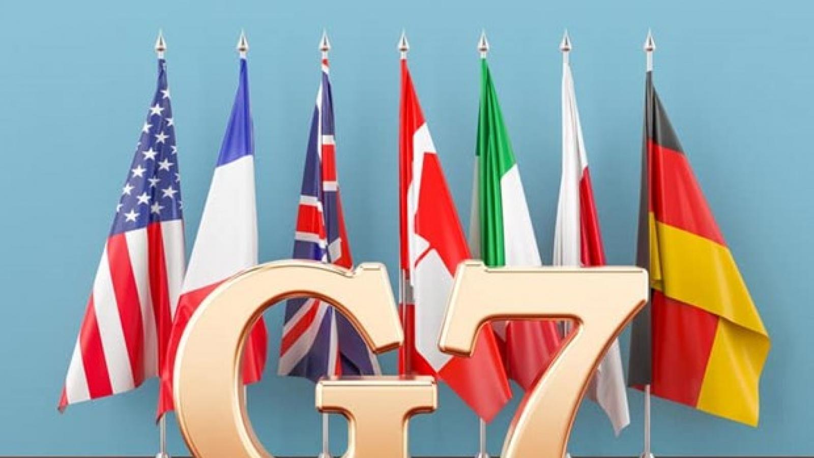 Bộ trưởng Tài chính G7 họp về tăng thuế đối với các tập đoàn công nghệ