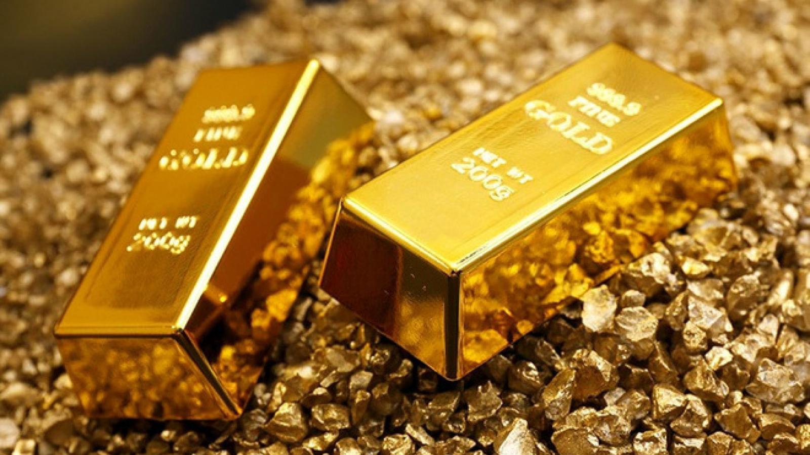 Giá vàng đồng loạt tăng bứt phá