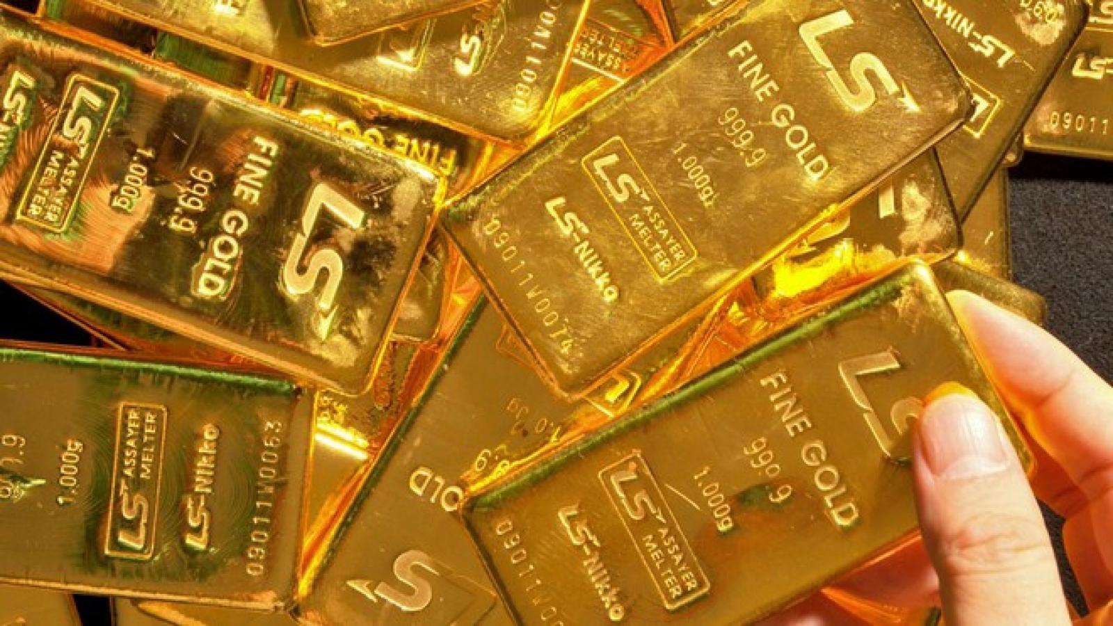 Giá vàng trong nước và thế giới cùng giảm