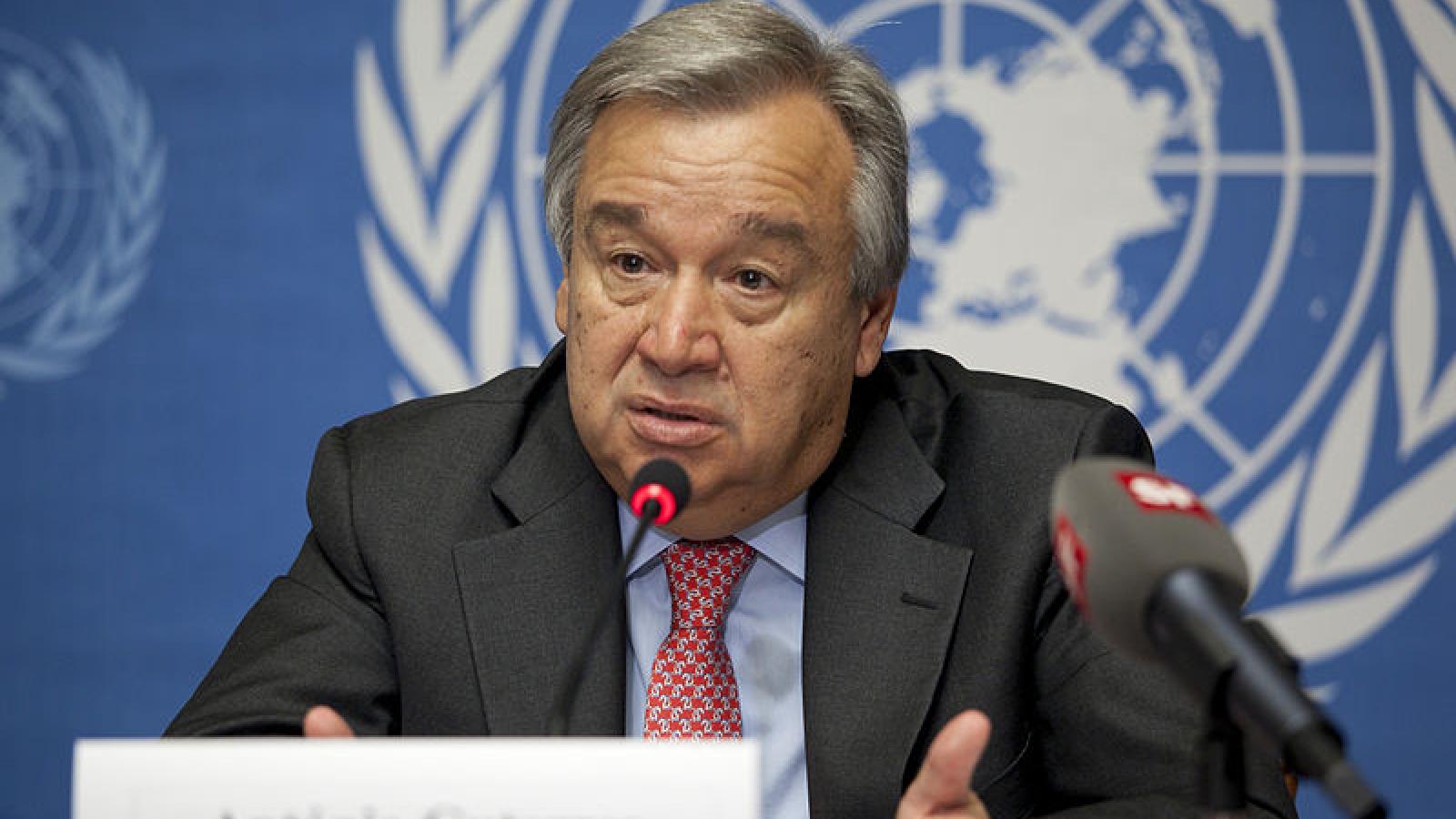 Ông Guterres là ứng viên duy nhất cho vị trí Tổng thư ký Liên Hợp Quốc 2022-2026