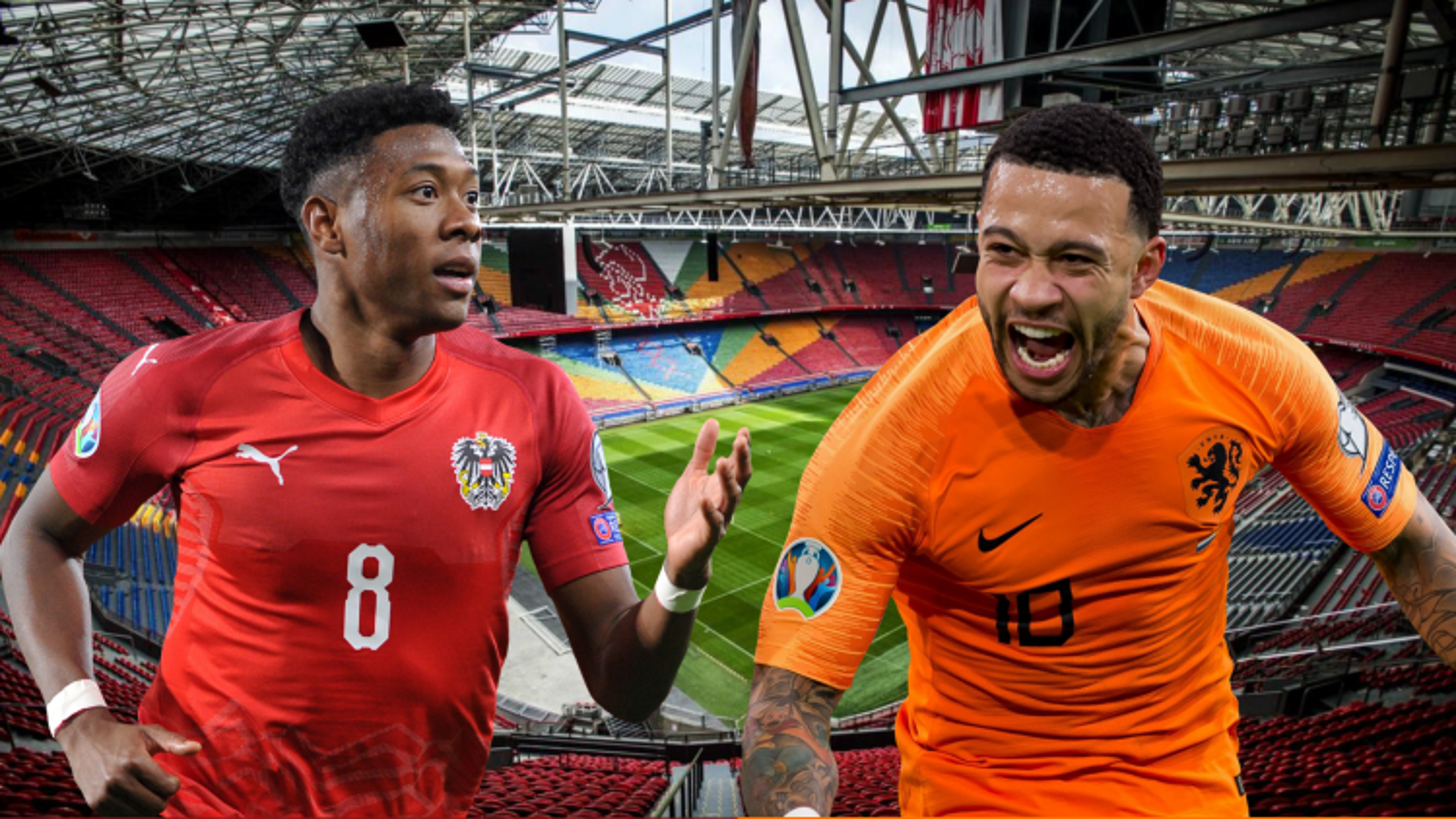 Dự đoán tỷ số, đội hình xuất phát trận Hà Lan - Áo