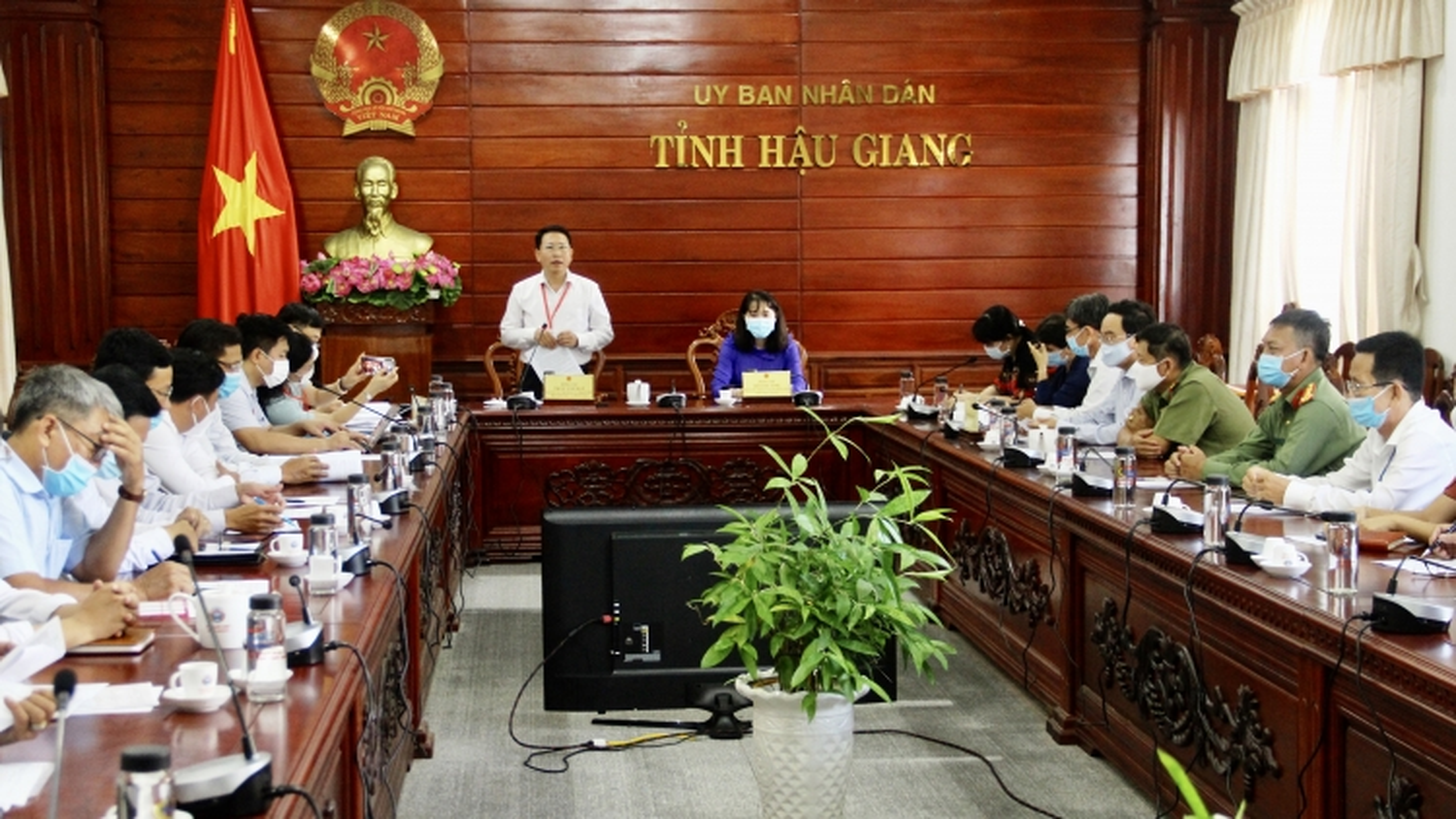 Bộ GD-ĐTkiểm tra công tác chuẩn bị Kỳ thi tốt nghiệp THPT tại tỉnh Hậu Giang