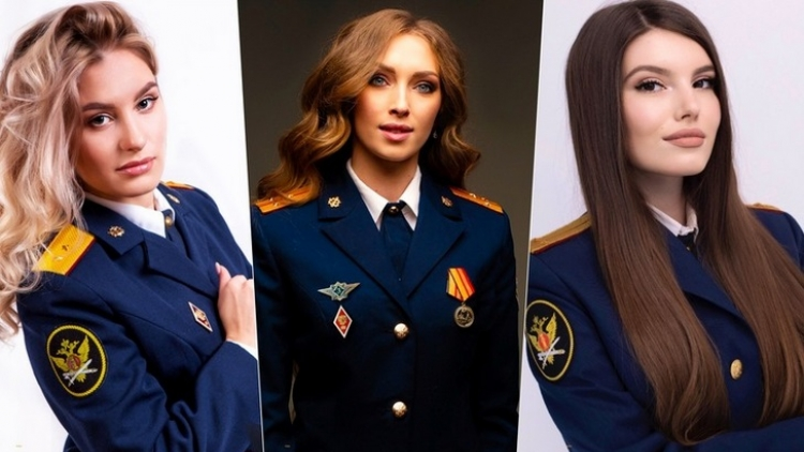 Vẻ đẹp các nữ quản giáo Nga tham gia cuộc thi hoa khôi ngành trại giam