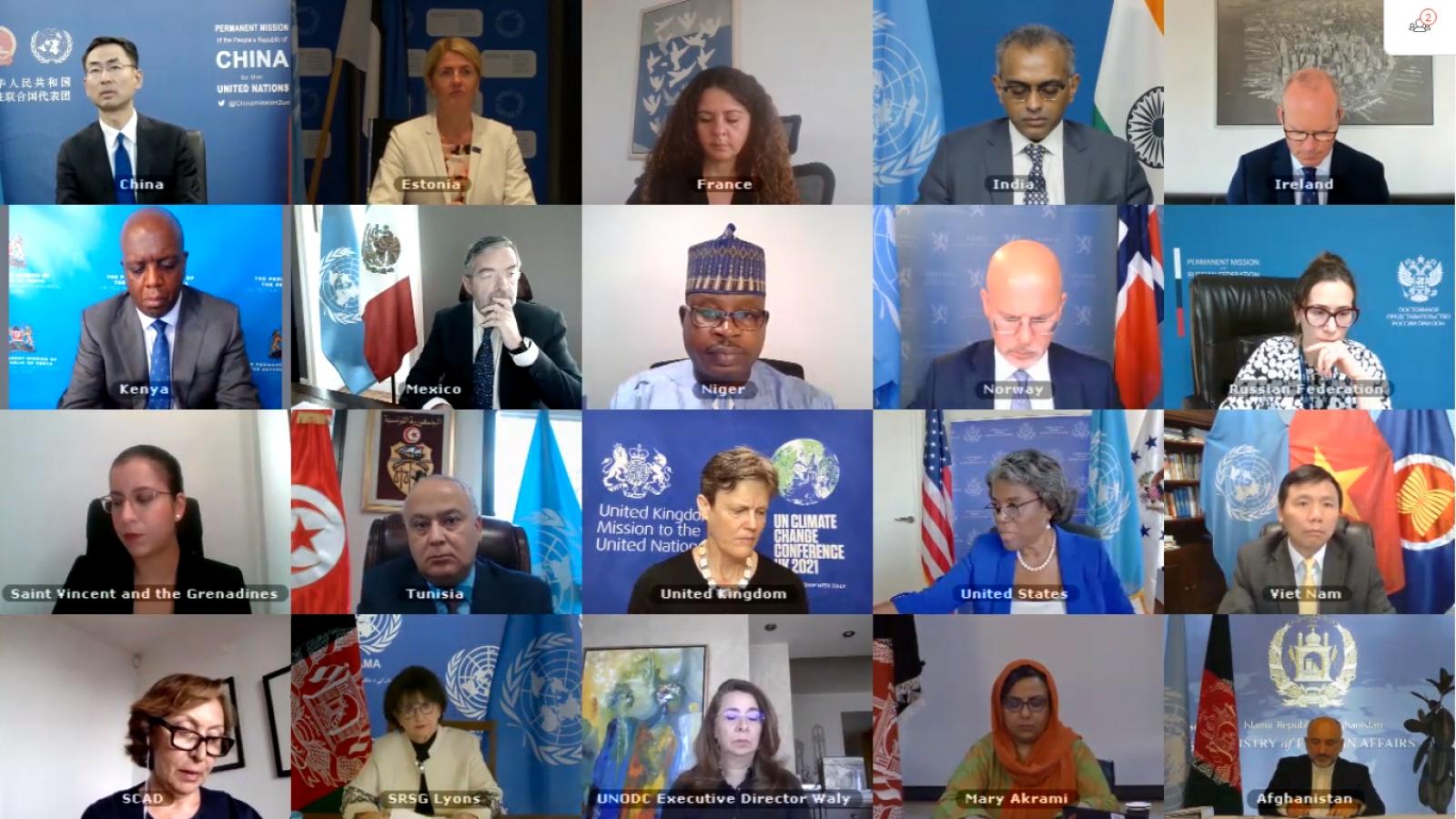 Hội đồng Bảo an quan ngại tình trạng leo thang bạo lực tại Afghanistan