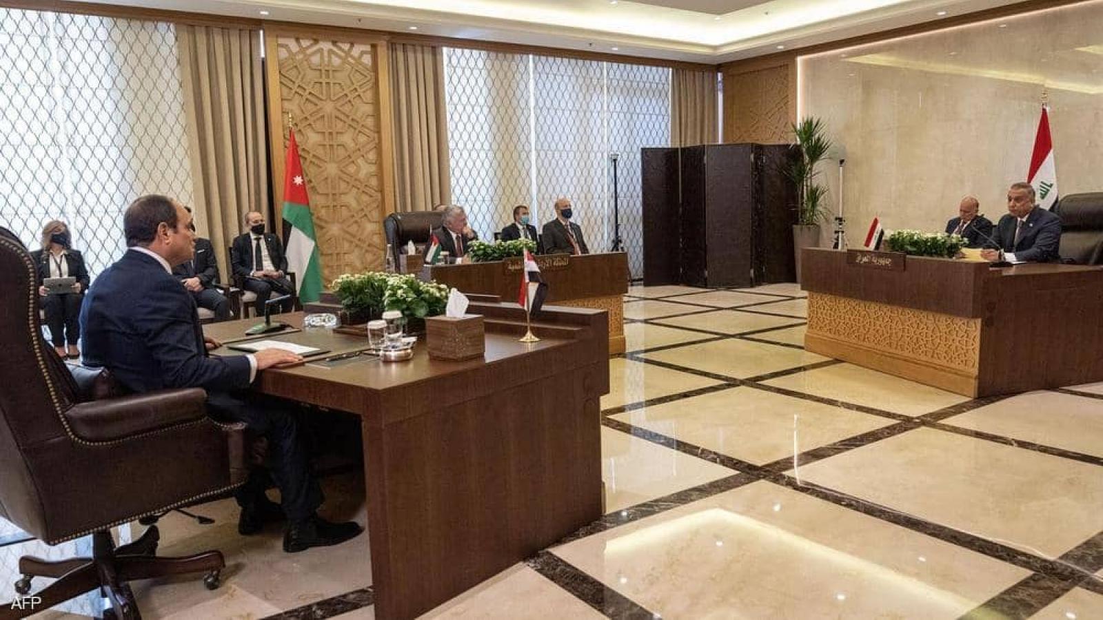 Hội nghị trưởng định Ai Cập, Iraq và Jordan bàn về dự án kinh tế khổng lồ
