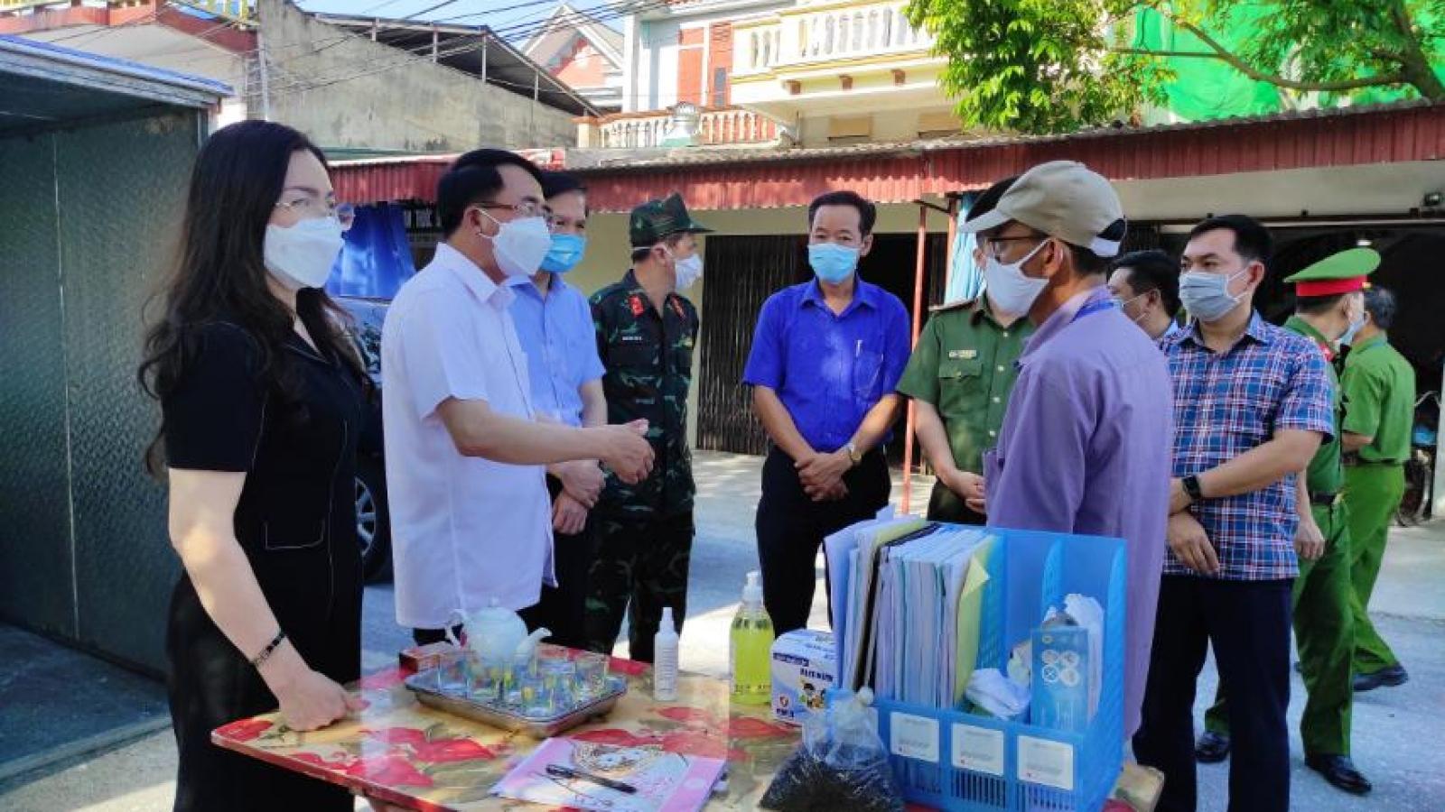 Hải Phòng yêu cầu siết chặt các biện pháp phòng chống dịch tại huyện Vĩnh Bảo