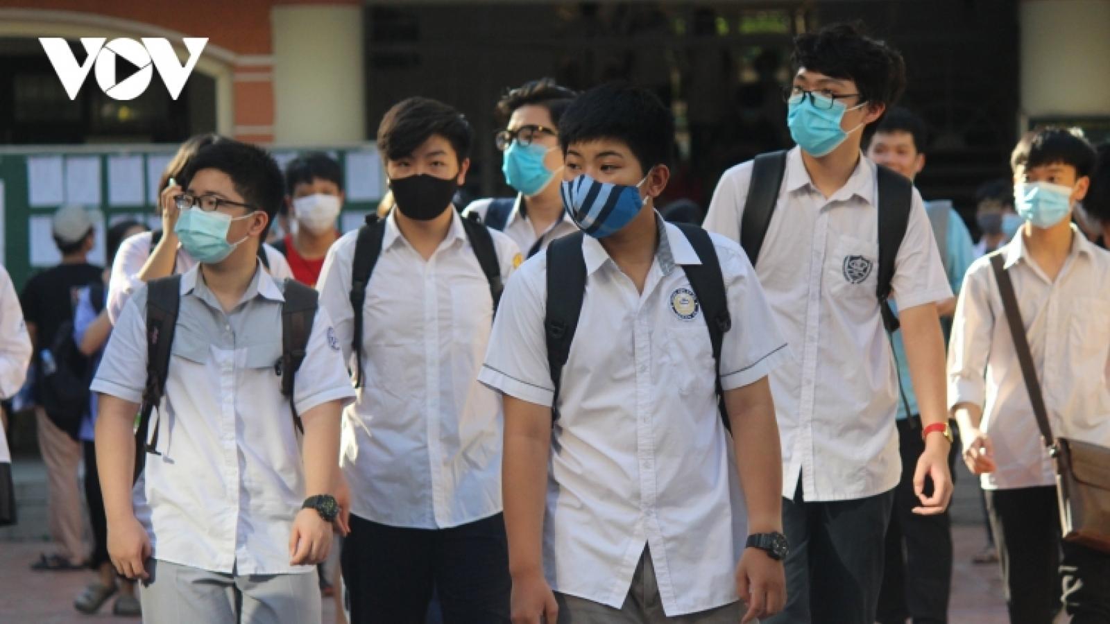 Xét nghiệm COVID-19 cho tất cả thí sinh dự thi tốt nghiệp THPT ở Bắc Ninh