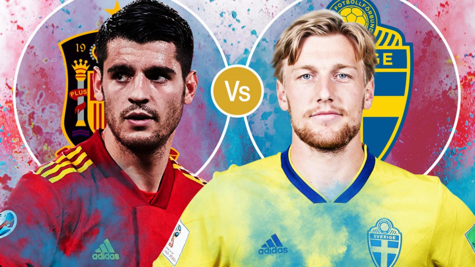 Cách xem trực tiếp ĐT Tây Ban Nha vs ĐT Thụy Điển bảng E - EURO 2021