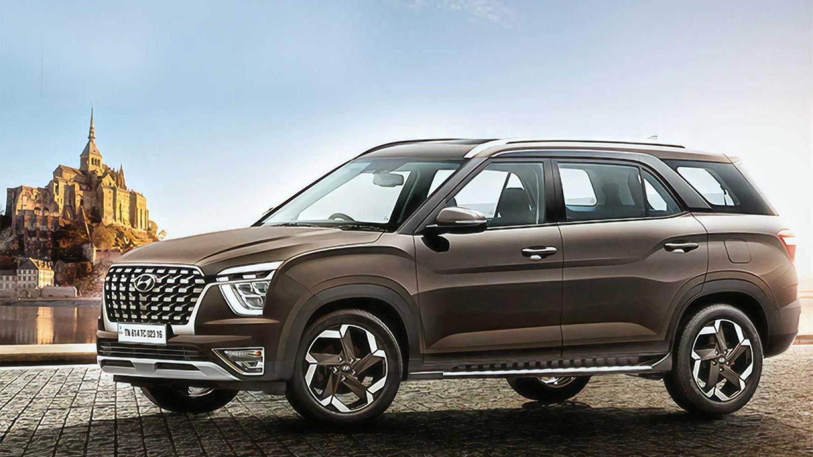 SUV 7 chỗ Hyundai Alcazar bất ngờ mở bán trước ngày ra mắt chính thức