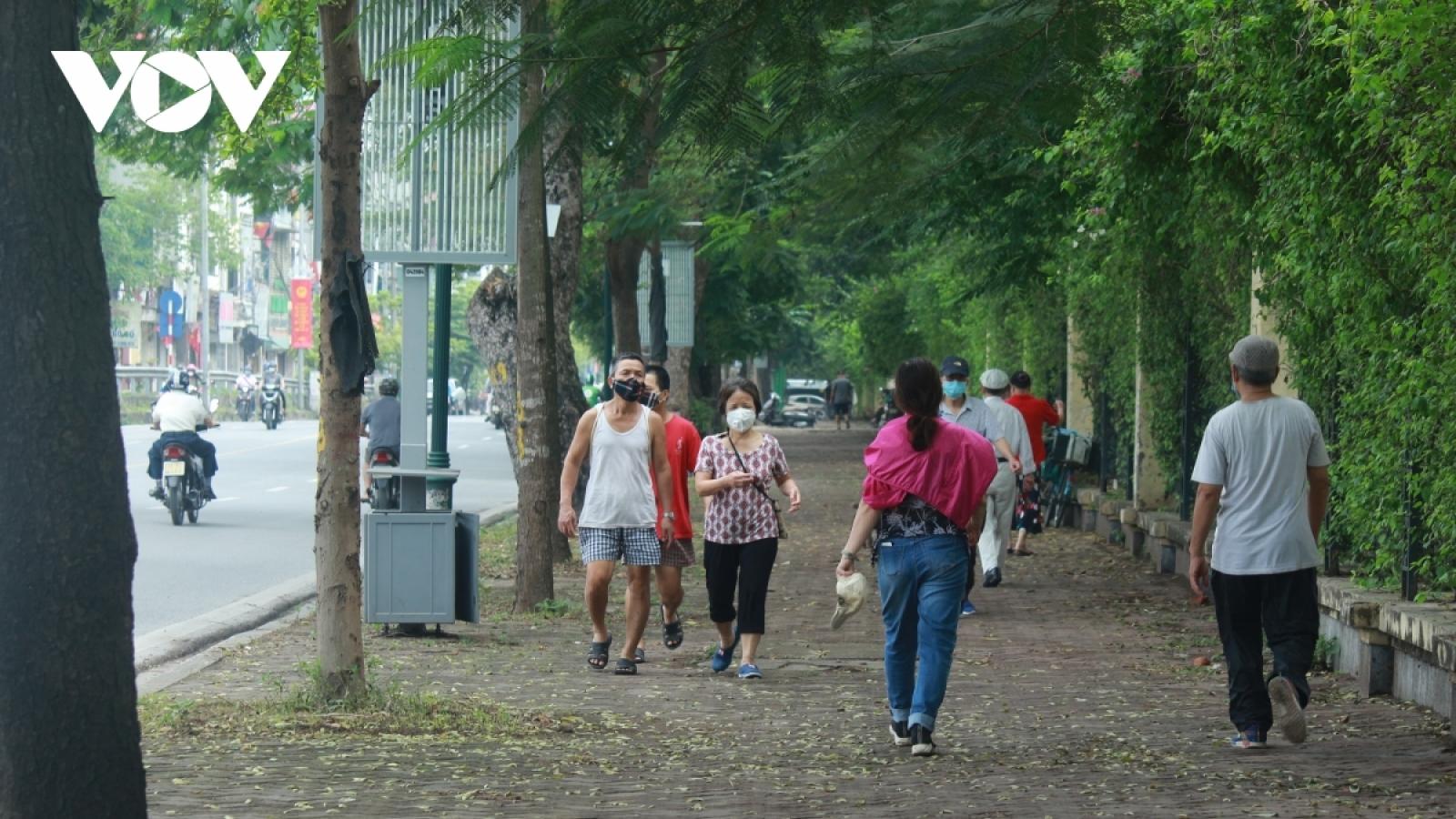 Hà Nội cho phép thể thao ngoài trời, sân golf hoạt động trở lại từ 0h ngày 26/6