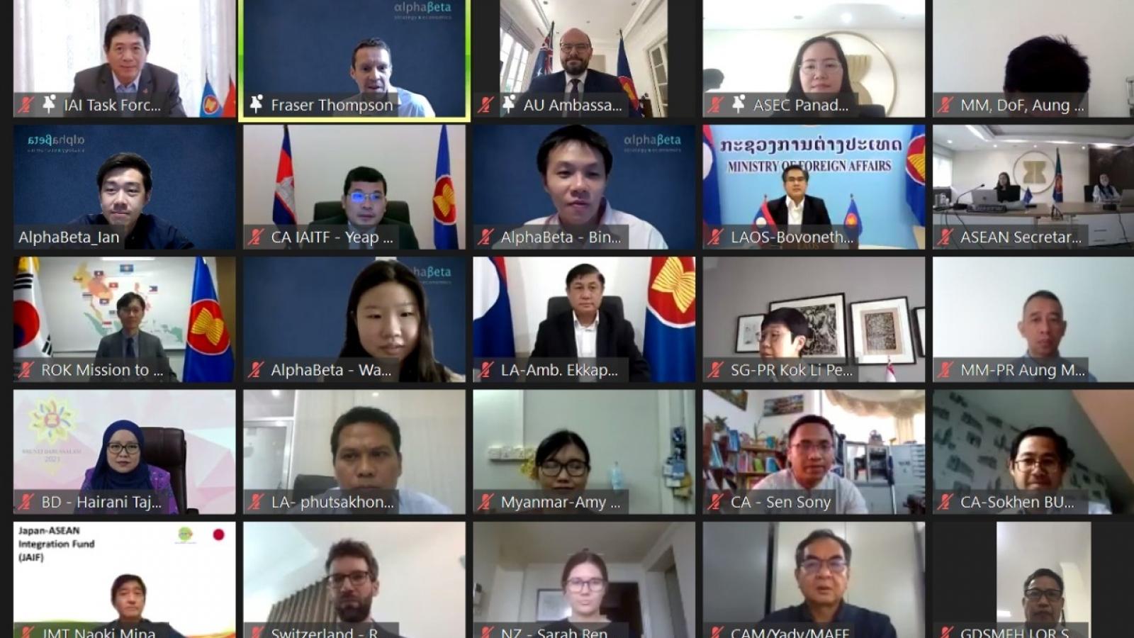 Triển khai Kế hoạch Công tác giai đoạn IV của Sáng kiến liên kết ASEAN