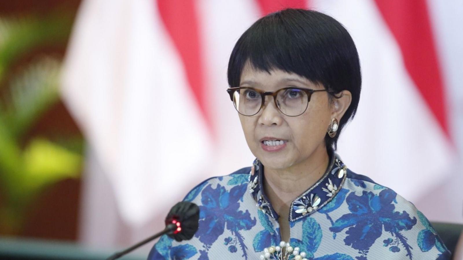 Indonesia kêu gọi ASEAN chỉ định đặc phái viên về Myanmar