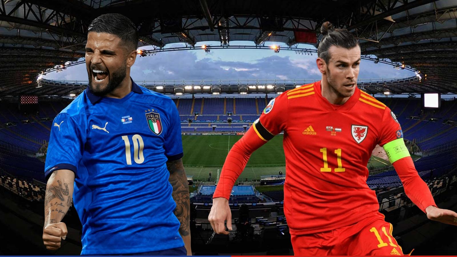 Dự đoán tỷ số, đội hình xuất phát trận Italia - Xứ Wales