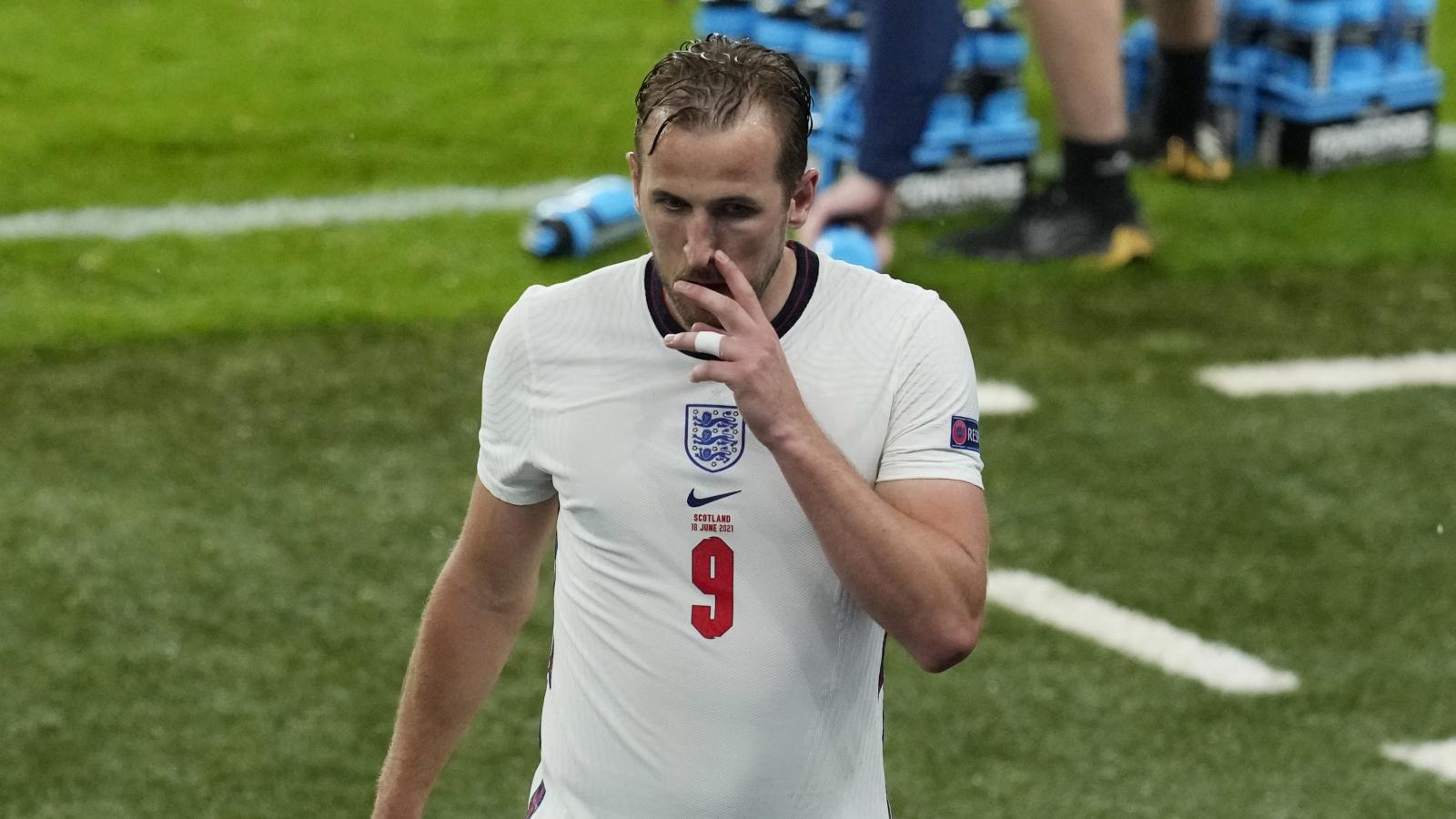 Harry Kane tiếp tục đá chính cho ĐT Anh ở EURO 2021