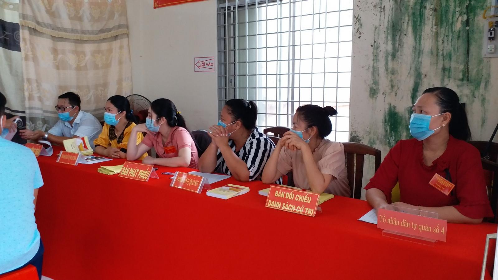 Hơn 5.000 cử tri tỉnh Kiên Giangđi bầu cử thêm đại biểu HĐND cấp huyện, cấp xã