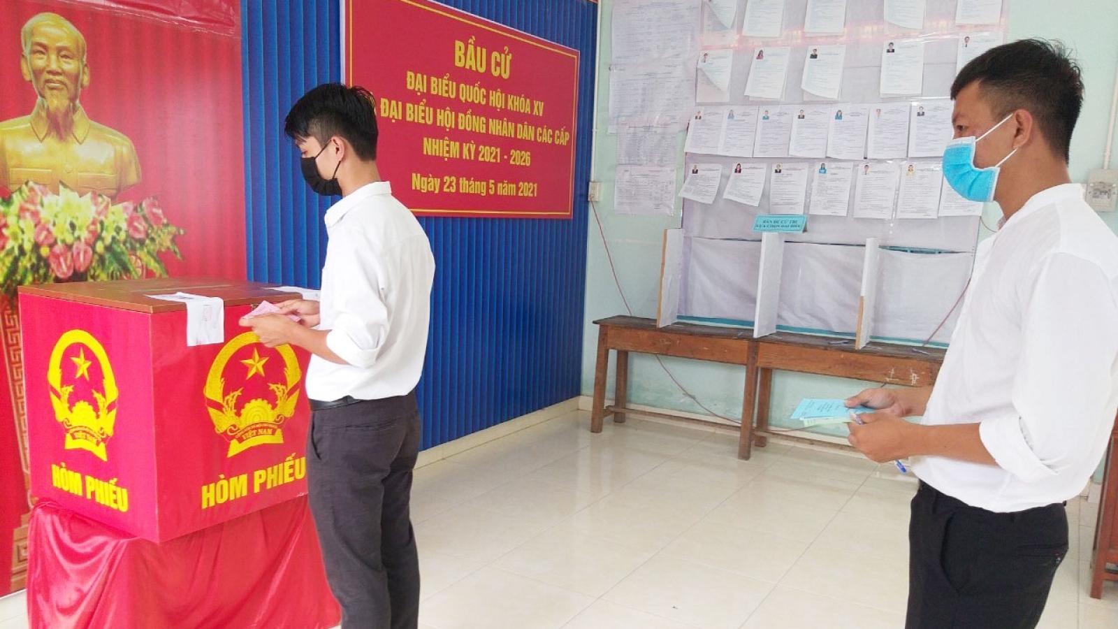 Một đơn vị bầu cử ở Khánh Hòa phải bầu thêm đại biểu HĐND cấp xã