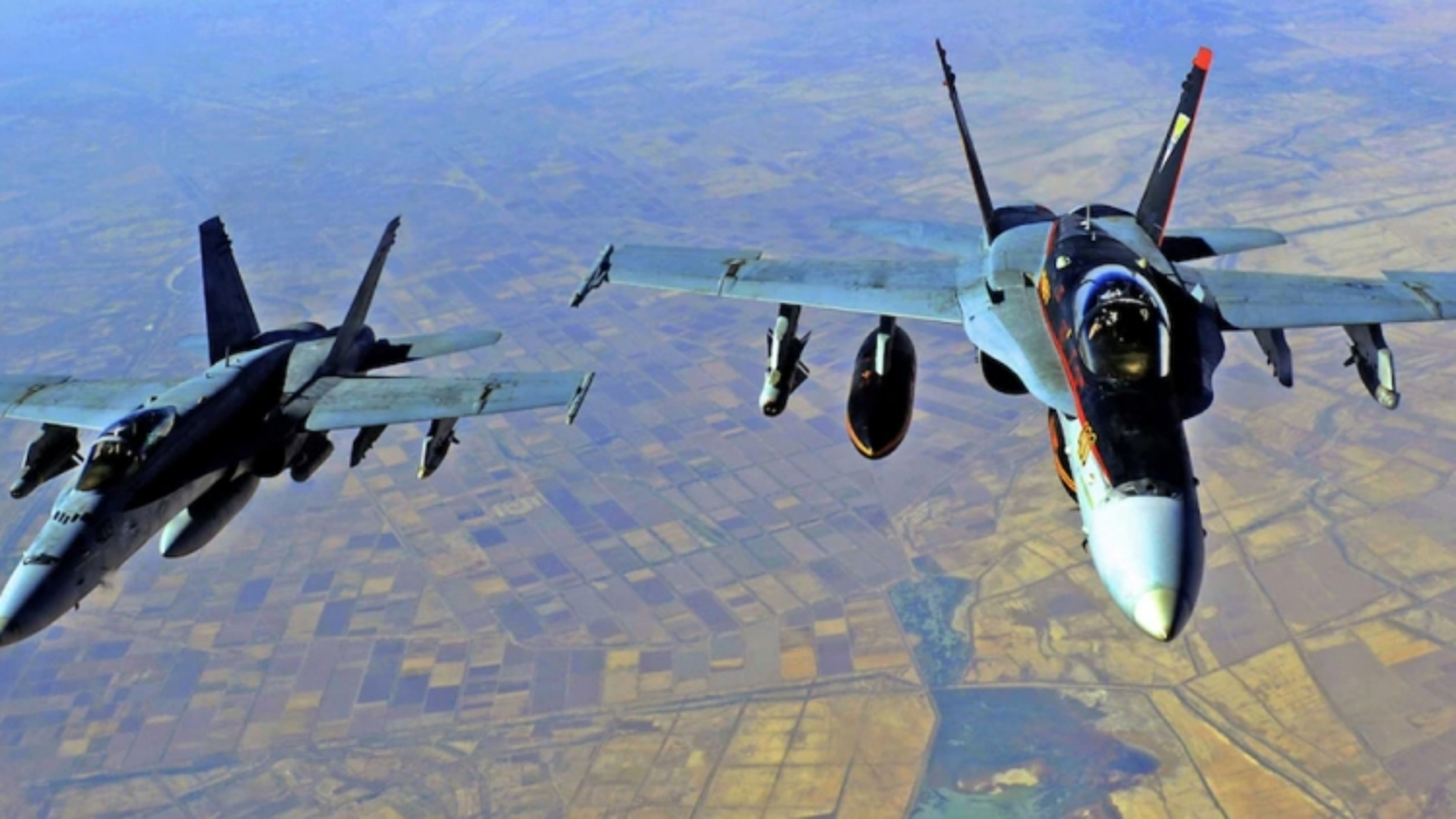 Mỹ không kích mục tiêu của các nhóm dân quân do Iran hậu thuẫn ở Syria và Iraq