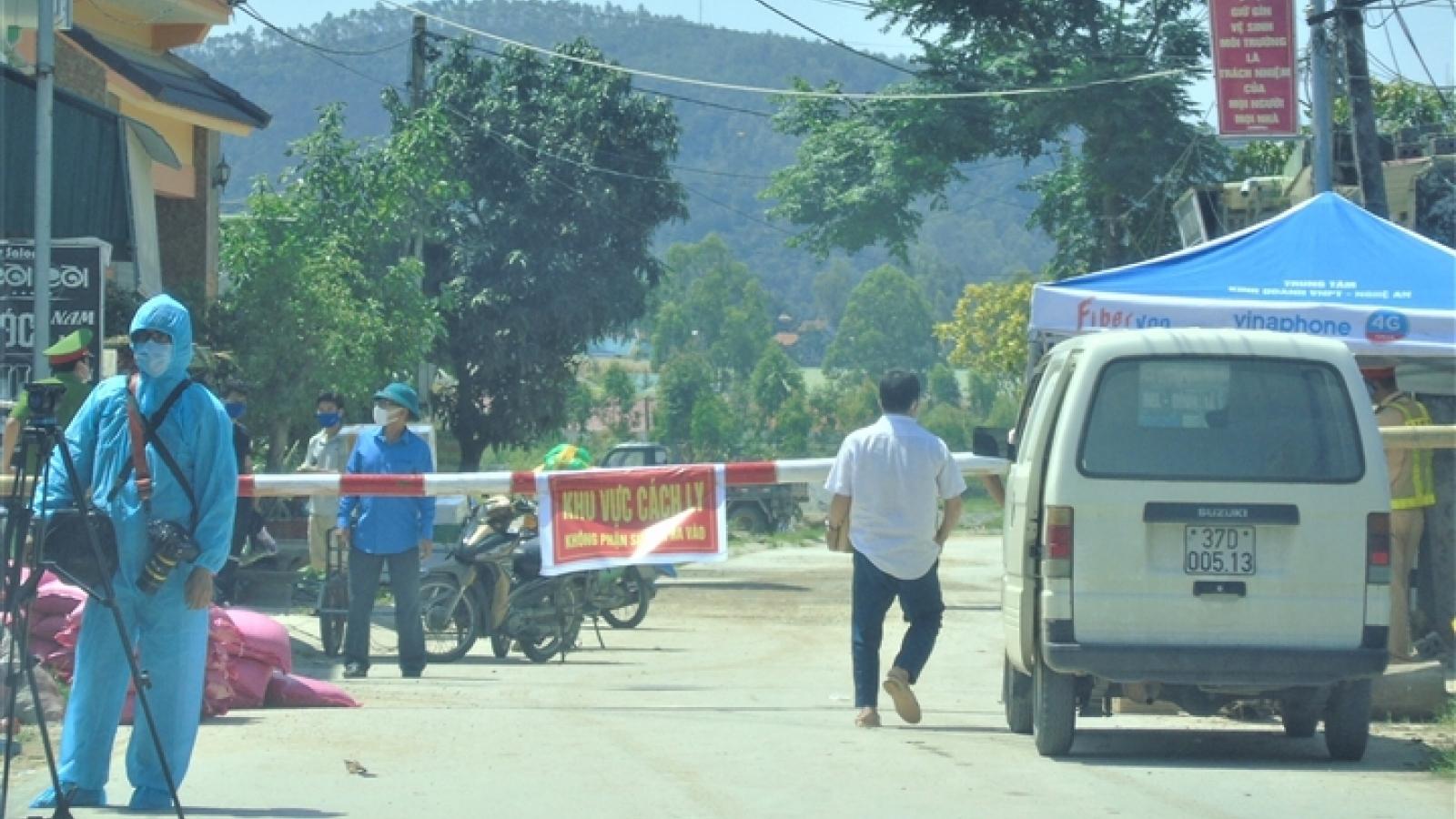 Khai báo y tế gian dối, nam thanh niên ở Nghệ An bị phạt 15 triệu đồng
