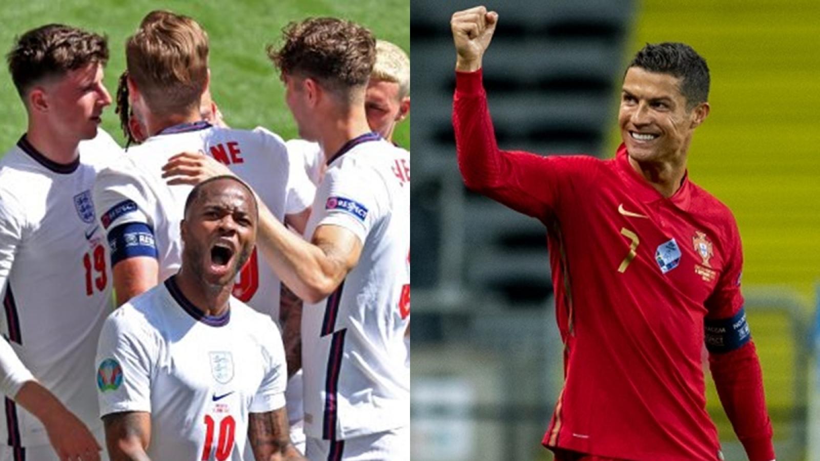 Kịch bản nào sẽ khiến Bồ Đào Nha gặp Anh ở vòng 1/8 EURO 2021?