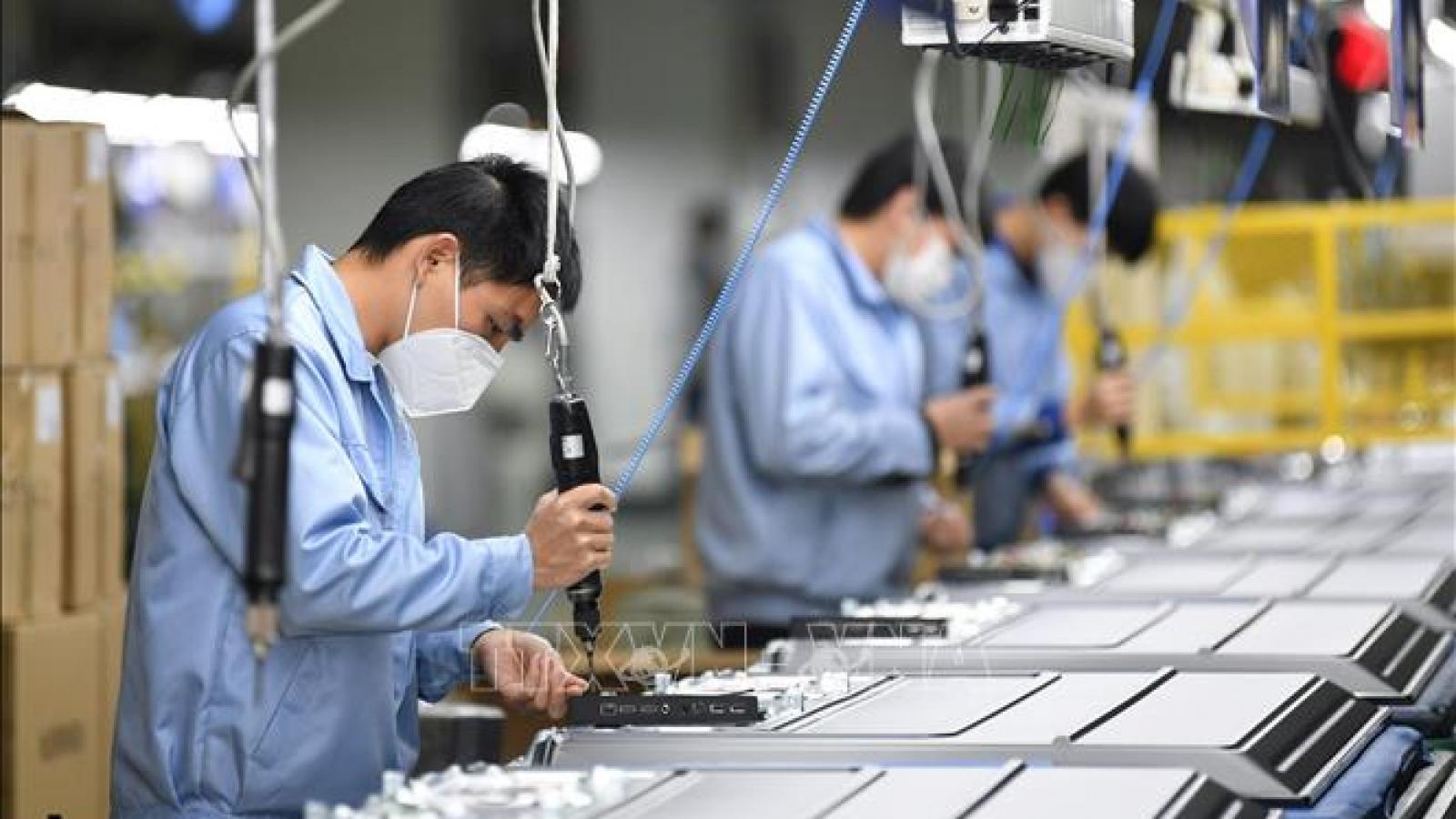 WB nâng mức dự báo tăng trưởng kinh tế Trung Quốc