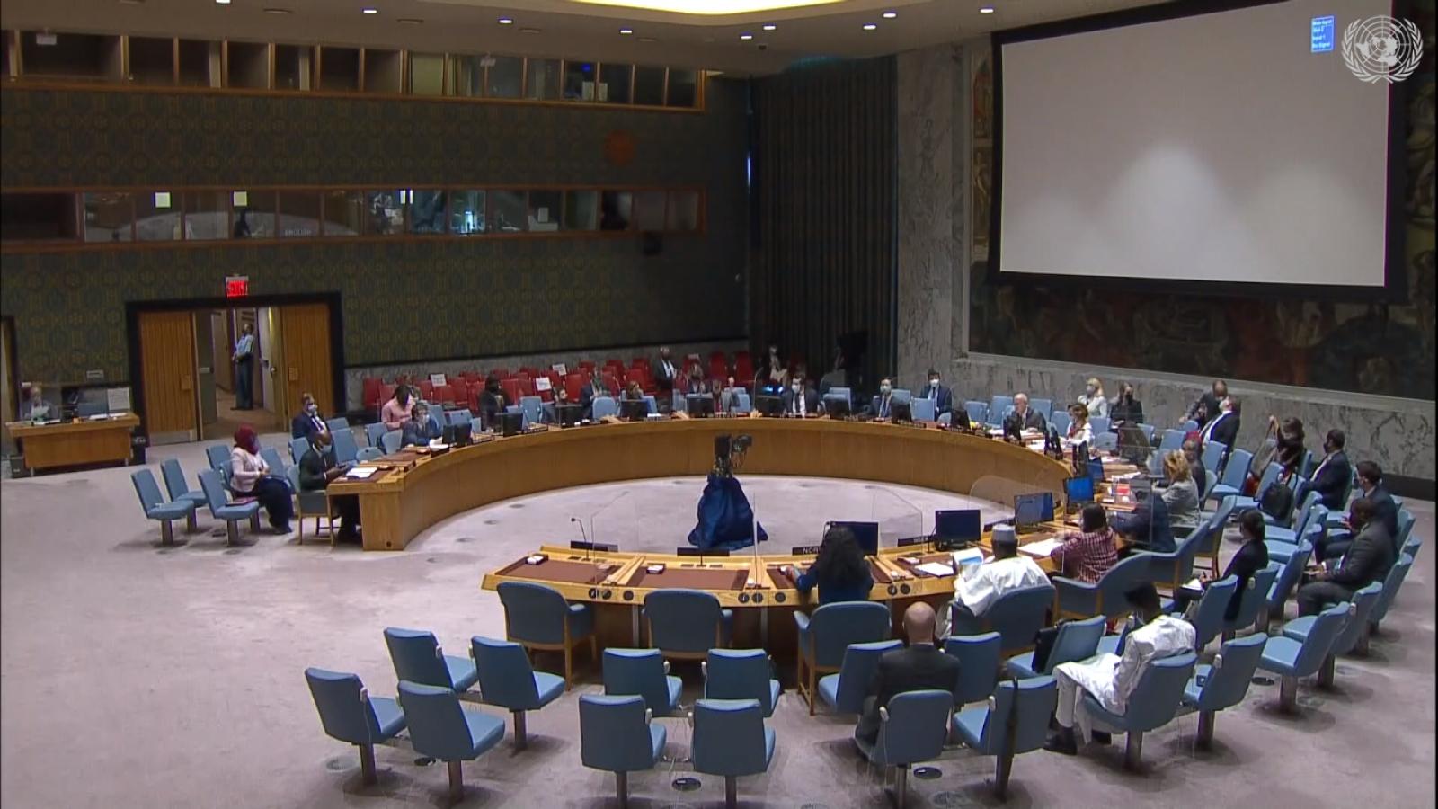 Hội đồng Bảo an Liên Hợp Quốc họp về tình hình Sudan, Somalia và Cao nguyên Golan
