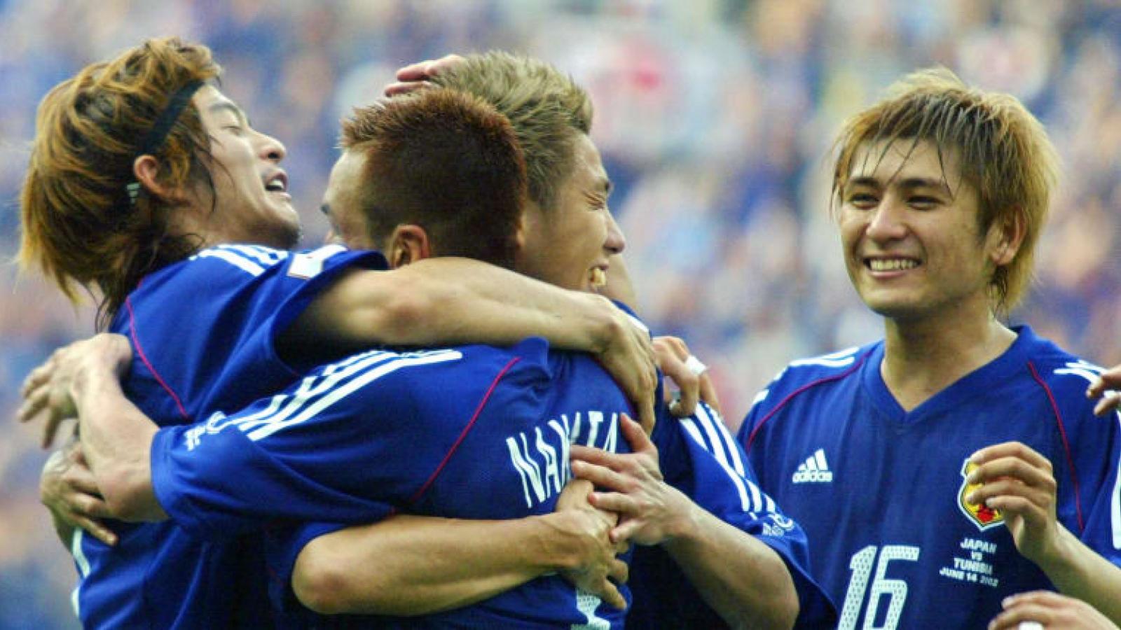 Ngày này năm xưa: ĐT Nhật Bản thắng trận đấu tiên ở VCK World Cup