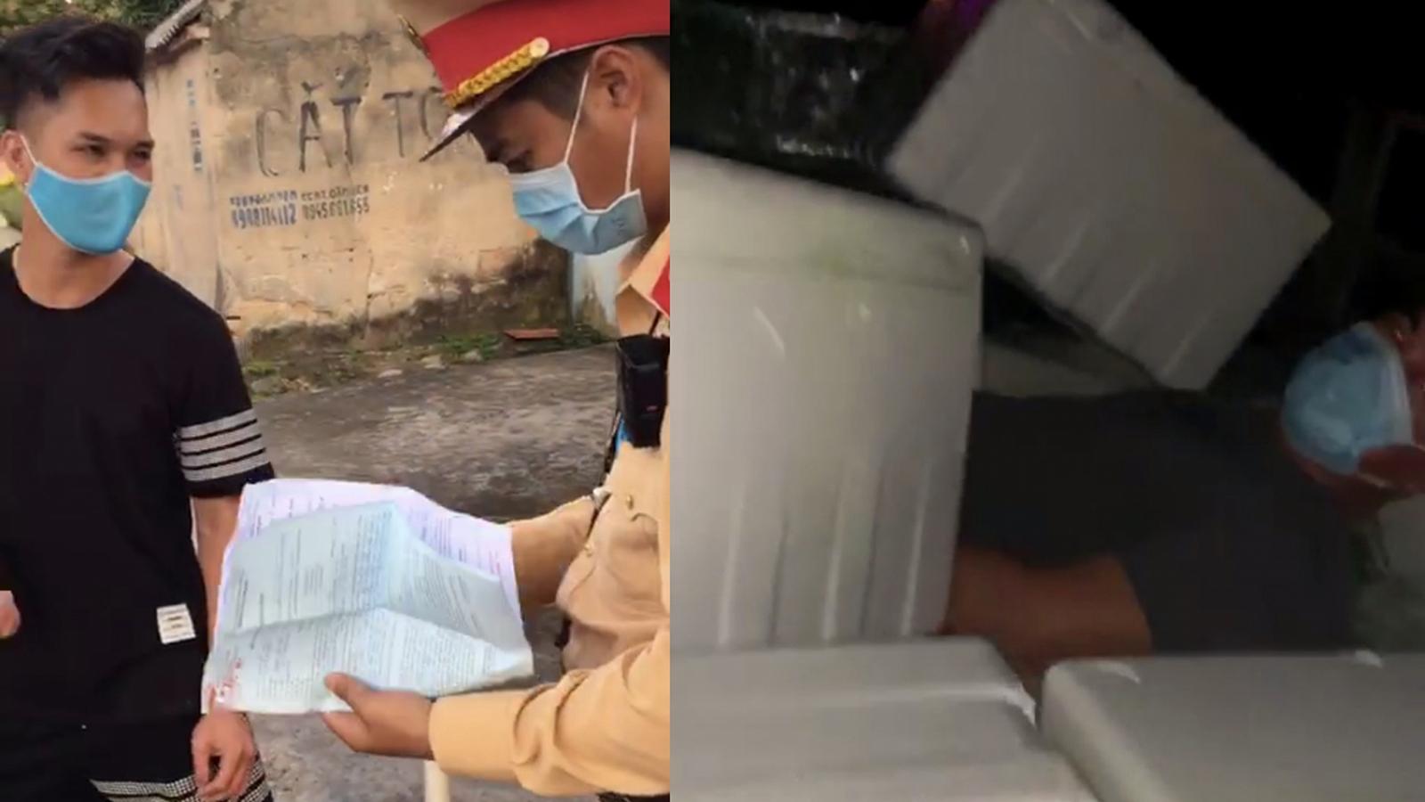 Quảng Ninh liên tiếp phát hiện xe chở khách trốn chốt kiểm soát dịch