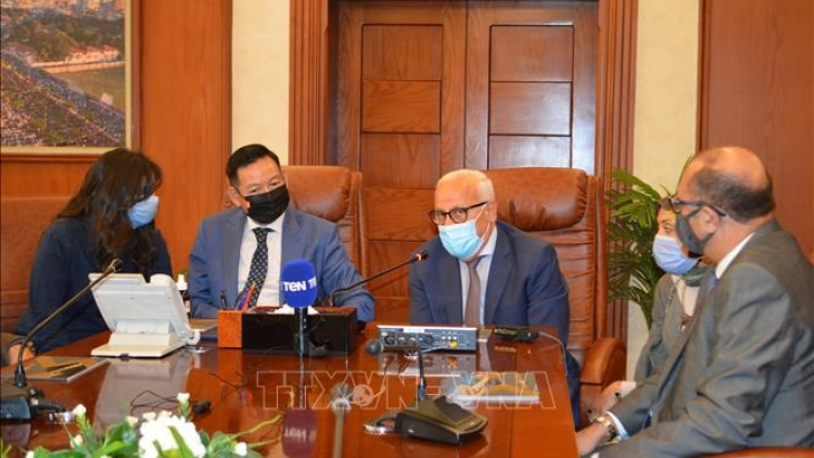 Egyptian localities aspire to cooperate in areas of Vietnam's strength
