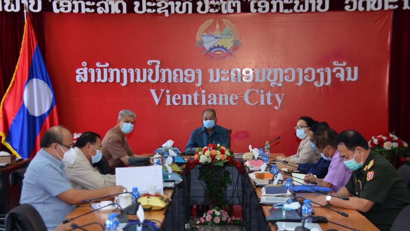 Lào tiếp tục phong tỏa thủ đô Vientiane đến ngày 19/6