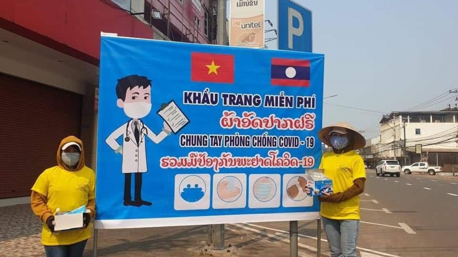 Số ca mắc Covid-19 mới ở Lào giảm xuống mức thấp nhất