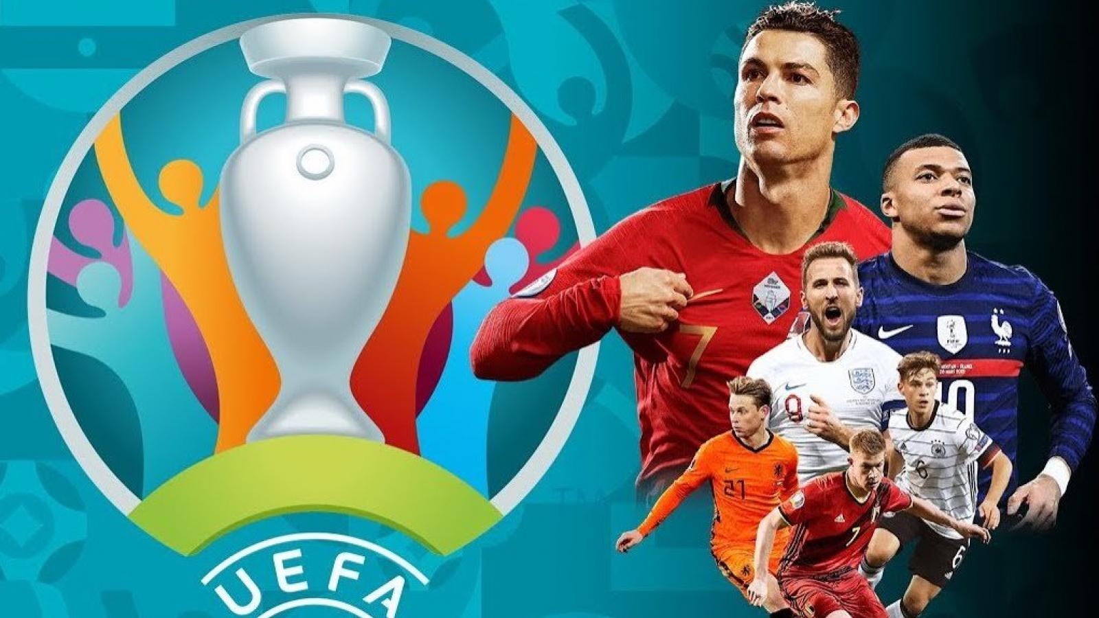 Lịch thi đấu và trực tiếp vòng 1/8 EURO 2021: Hồi hộp chờ đại chiến