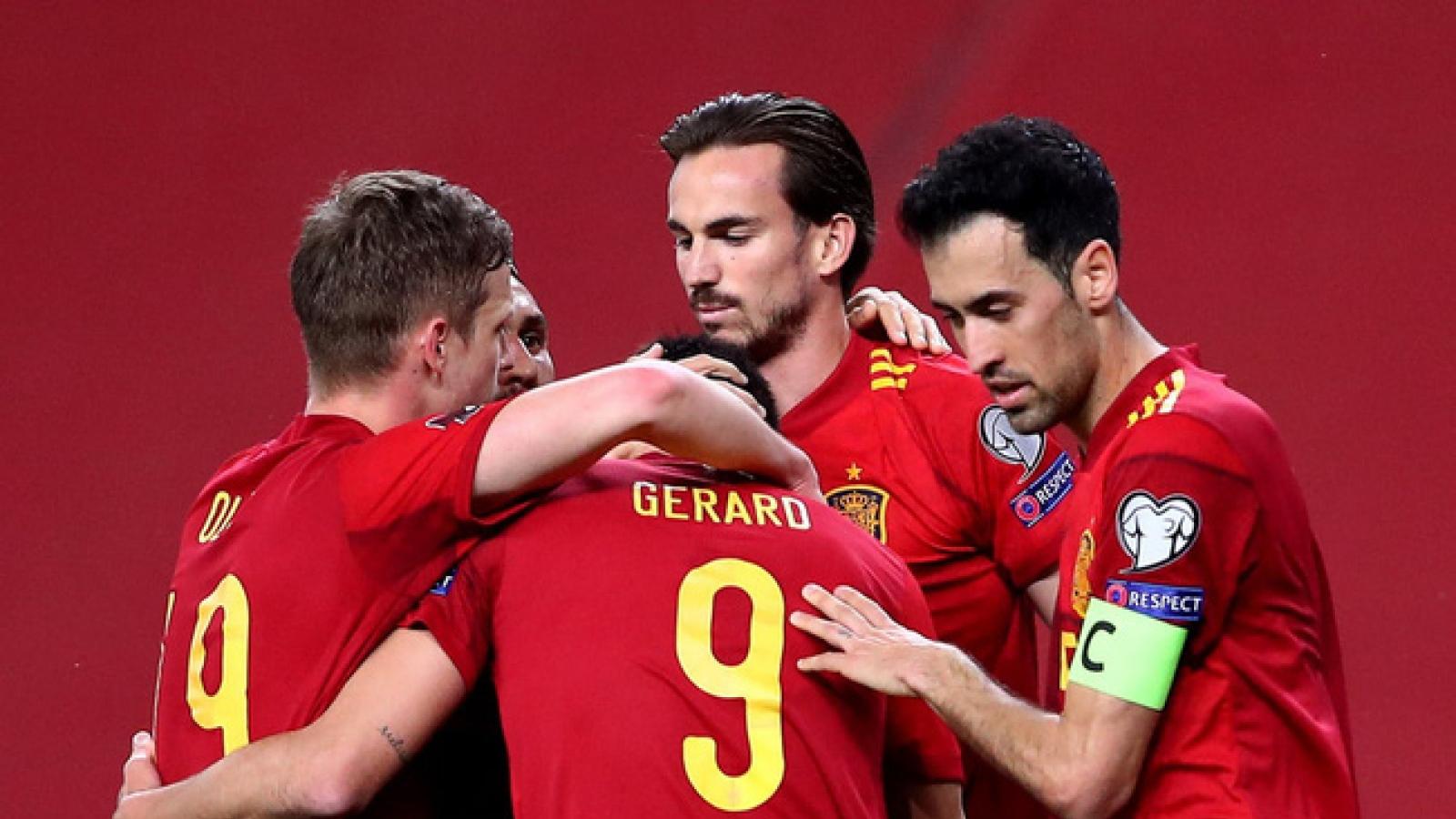 Lịch thi đấu bảng E EURO 2021: Khó cho Tây Ban Nha
