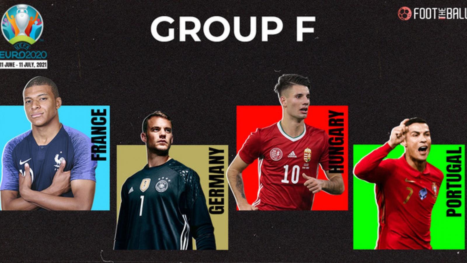 Lịch thi đấu bảng F - EURO 2021: Tử thần gọi tên ai?