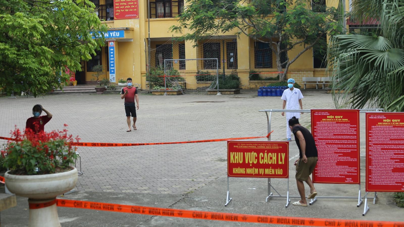 Lạng Sơn chủ động phương án tiếp nhận và cách ly công dân trở về từ các tỉnh có dịch