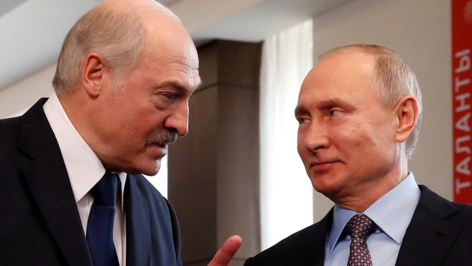 Nga và Belarus hợp tác đối phó với phương Tây