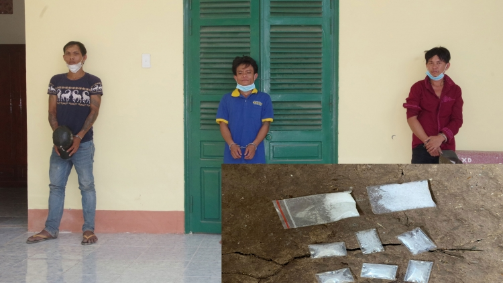 Bộ đội Biên phòng Sóc Trăng bắt 3 đối tượng tàng trữ, sử dụng chất ma túy