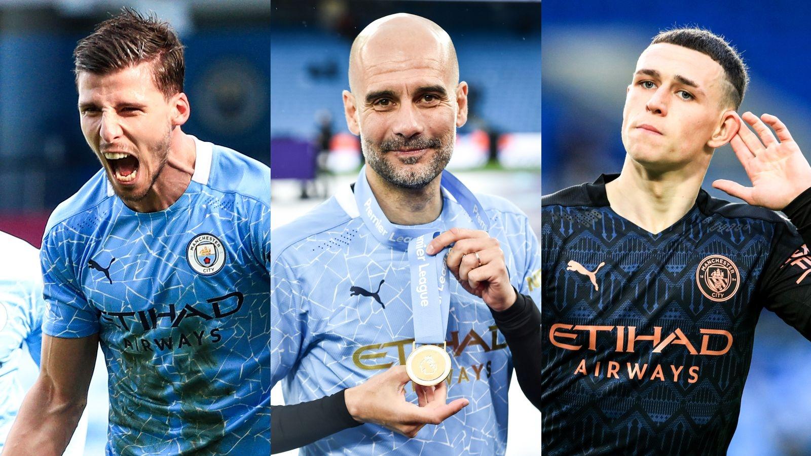 Man City lập hat-trick danh hiệu cá nhân của Premier League 2020/2021