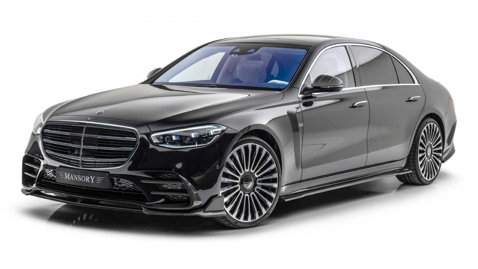 """Mansory ra mắt gói độ """"cực ngầu"""" cho Mercedes-Benz S-Class 2021"""
