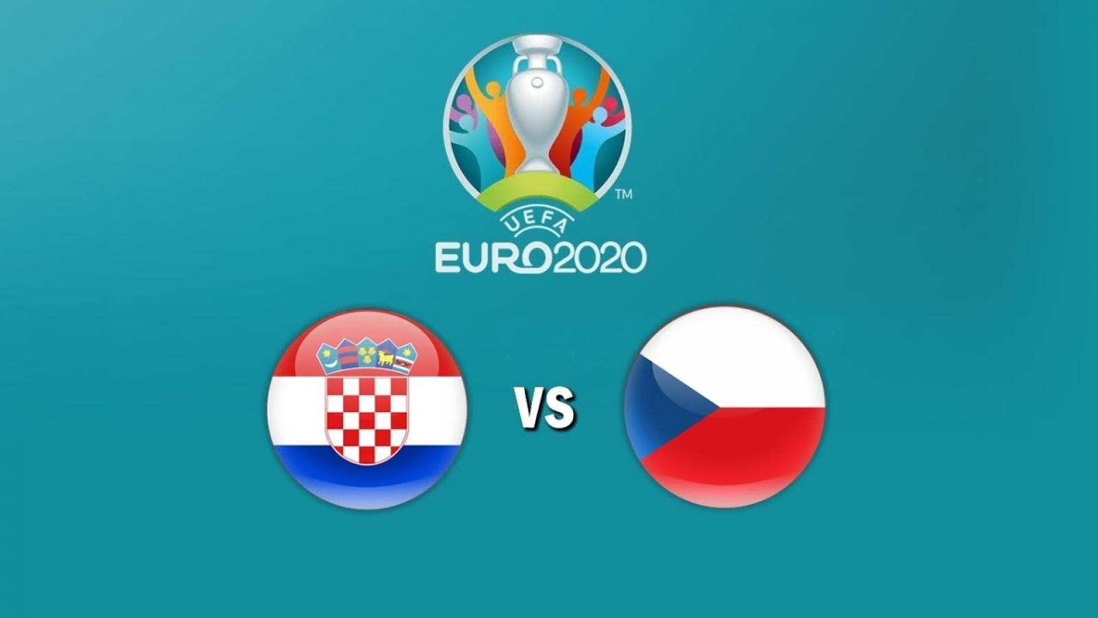 """Trực tiếp Croatia vs CH Séc: """"Siêu phẩm"""" tiếp theo chờ Patrik Schick?"""